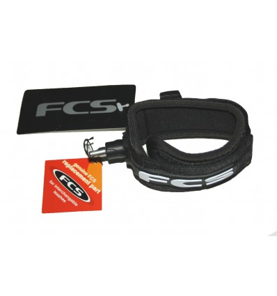 Spare FCS Longboard Ankle Strap Black